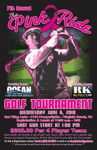 2018 Pink Ride Golf Tournament