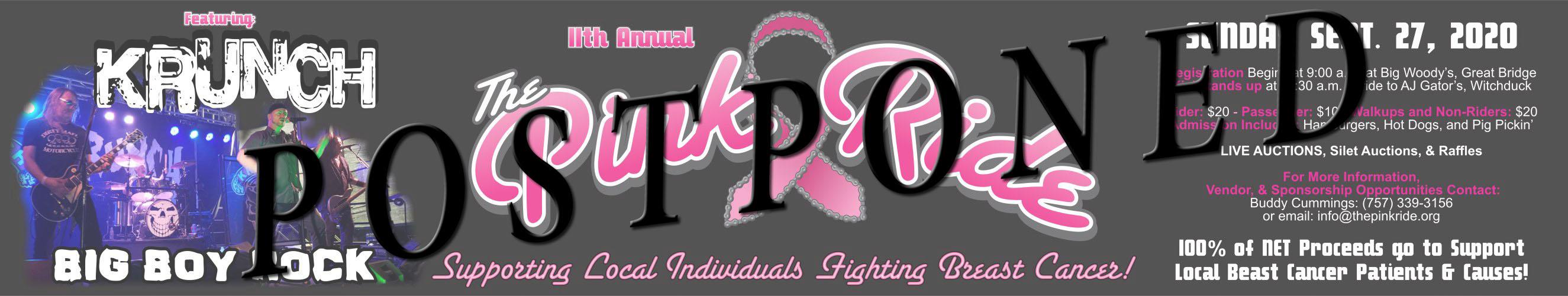 2020 PinkRide Banner